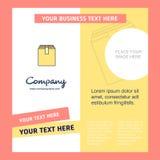 Plantilla del folleto de Database Company Plantilla de Busienss del vector libre illustration