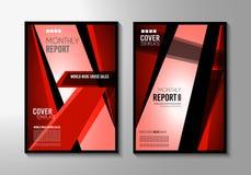 Plantilla del folleto, diseño del aviador o cubierta de Depliant para la presentación del negocio Fotografía de archivo libre de regalías