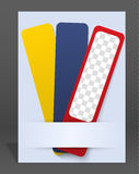Plantilla del folleto o de la portada de revista del vector libre illustration