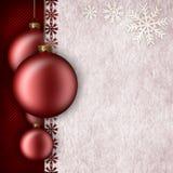 Plantilla del fondo de la Navidad ilustración del vector