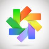 Plantilla del logotipo Foto de archivo libre de regalías