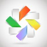 Plantilla del logotipo Imagen de archivo libre de regalías