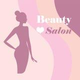Plantilla del logotipo de la belleza Fotografía de archivo libre de regalías