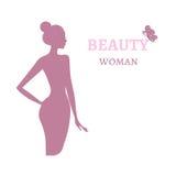 Plantilla del logotipo de la belleza Fotos de archivo libres de regalías