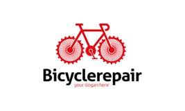 Plantilla del logotipo de la bicicleta ilustración del vector