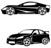 Plantilla del logotipo de los coches Fotografía de archivo libre de regalías