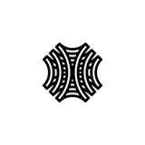 Plantilla del logotipo del modelo ~ vector Imágenes de archivo libres de regalías