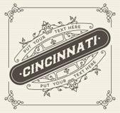 Plantilla del logotipo del vintage, hotel, restaurante, negocio o boutique I Imagenes de archivo
