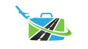 Plantilla del logotipo del vector de la agencia del transporte aéreo libre illustration