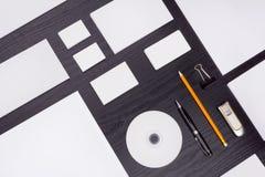 Plantilla del negocio de la maqueta Imágenes de archivo libres de regalías