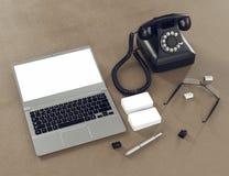 Plantilla del negocio de la maqueta Fotos de archivo libres de regalías