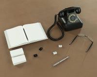 Plantilla del negocio de la maqueta Imagen de archivo libre de regalías