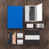 Plantilla del negocio de la maqueta De alta resolución Foto de archivo libre de regalías