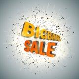 Plantilla del negocio de la venta de Bigbang Fondo de la venta Vector Fotos de archivo libres de regalías