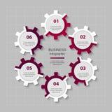 Plantilla del negocio del vector para la presentación Foto de archivo