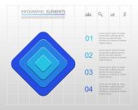 Plantilla del negocio del vector para la presentación Imagen de archivo