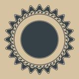 Plantilla del sello de goma Imagen de archivo libre de regalías
