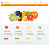 Plantilla del sitio web stock de ilustración