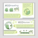 Plantilla del turismo ecológico libre illustration