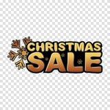 Plantilla del vector de la venta de la Navidad Vector Foto de archivo