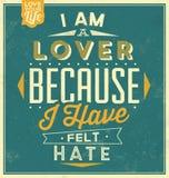 Plantilla del vintage - diseño retro - fondo tipográfico de la cita Imagen de archivo