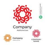 Plantilla determinada del concepto tradicional del icono del símbolo de la marca de la belleza de Logo Ornament Folk Stylish Iden Imágenes de archivo libres de regalías