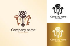 Plantilla dominante del logotipo Imagen de archivo