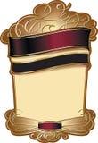 Plantilla elegante de la etiqueta del vino Fotos de archivo libres de regalías