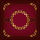 Plantilla elegante para la invitación del lujo del vip Fotografía de archivo libre de regalías