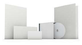 Plantilla en blanco determinada de los efectos de escritorio fotografía de archivo libre de regalías
