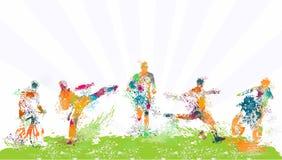 Plantilla especial del vector de los deportes ilustración del vector