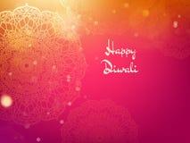 Plantilla feliz del dise?o del d?a de fiesta del festival de Diwali EPS 10 stock de ilustración