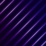 Plantilla futurista abstracta con las líneas y el li diagonales rectos Imagenes de archivo