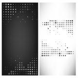 Plantilla gris del extracto del punto del ejemplo del vector Fotos de archivo