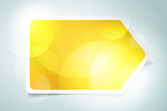 Plantilla infographic de la bandera del vector procesos Fotos de archivo libres de regalías