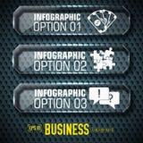 Plantilla infographic de la tecnología del negocio con los campos del texto Ilustración del vector ilustración del vector