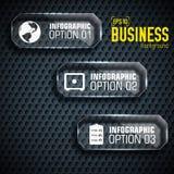 Plantilla infographic de la tecnología del negocio con los campos del texto Ilustración del vector stock de ilustración