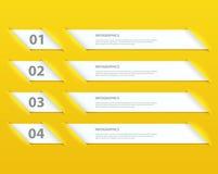 Plantilla infographic de las opciones del diseño moderno libre illustration