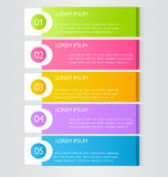 Plantilla infographic del negocio para la presentación, educación, diseño web, bandera, folleto, aviador