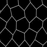 Plantilla irregular blanco y negro del mosaico Fotografía de archivo libre de regalías