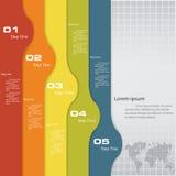 Plantilla limpia de las banderas del número del diseño libre illustration