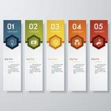 Plantilla limpia de las banderas del número del diseño Vector stock de ilustración