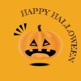 Plantilla linda del diseño del feliz Halloween del vector fotografía de archivo