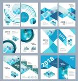 Plantilla médica del diseño del folleto del vector Fotografía de archivo libre de regalías