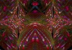 Plantilla misteriosa de emanación mágica del fondo fantástico hermoso de la ciencia del ornamento del contexto del color abstract Stock de ilustración