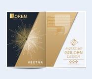 Plantilla moderna del vector para el folleto, el prospecto, el aviador, la cubierta, la bandera, el catálogo, la revista, o el in ilustración del vector