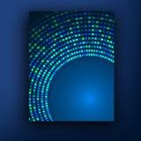 Plantilla o bandera del diseño de negocio del folleto abstraiga el fondo libre illustration