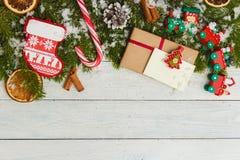 Plantilla para el espacio del Año Nuevo para el texto Maqueta para hacer publicidad, enhorabuena Imagen de archivo libre de regalías