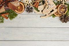 Plantilla para el espacio del Año Nuevo para el texto Maqueta para hacer publicidad, enhorabuena Imagen de archivo