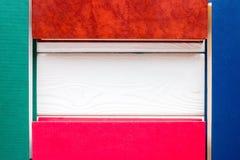Plantilla para el texto de los libros cerrados Foto de archivo libre de regalías